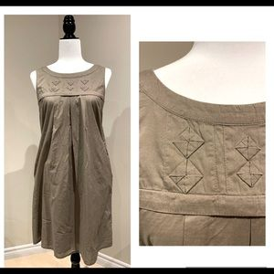 ESPRIT - lovely vintage cotton smock - size 6